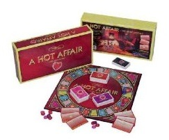 this adult board game is the perfect start to a a hot affair with your